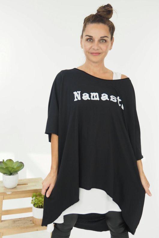 HOK Namaste Slouch Top Black