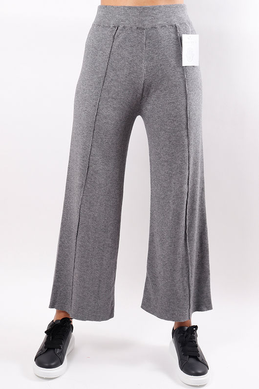 Knitted Culottes Grey