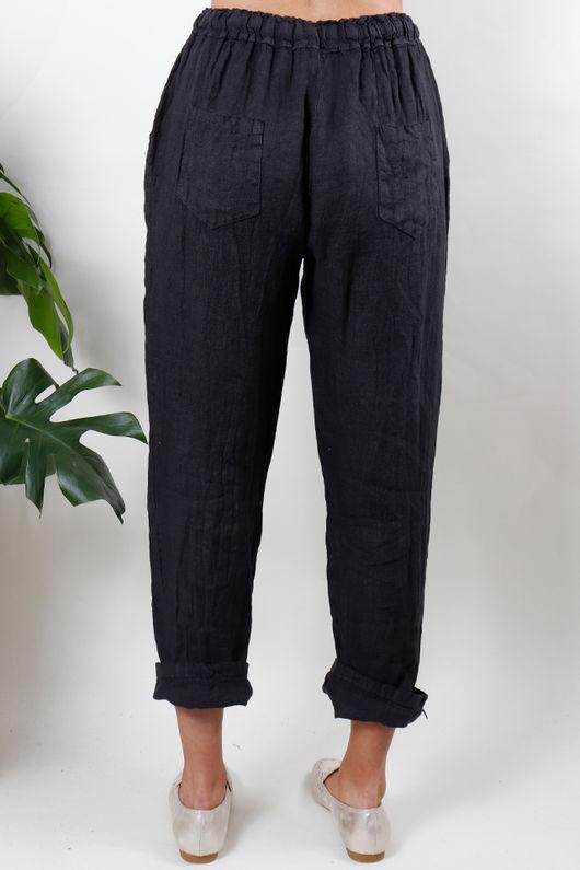 Linen Pant Slate