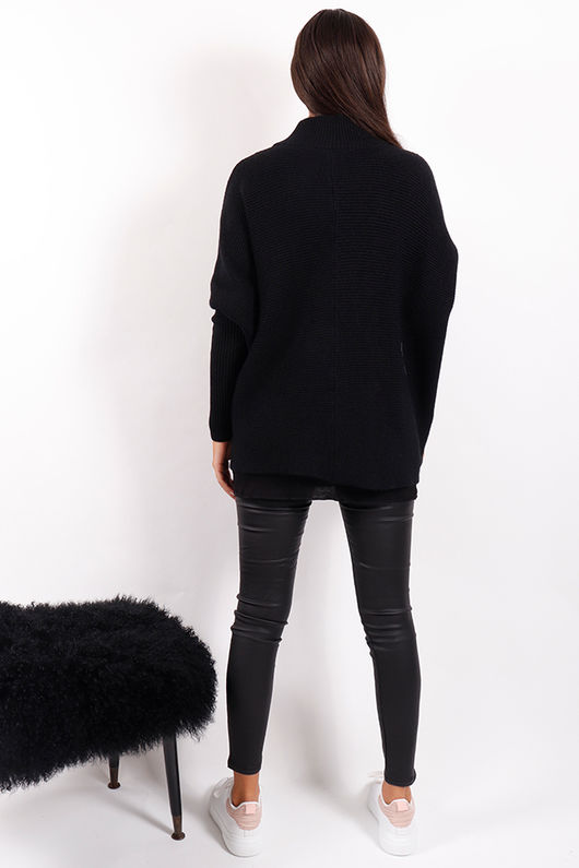 Made In Italy Archie Knit Black