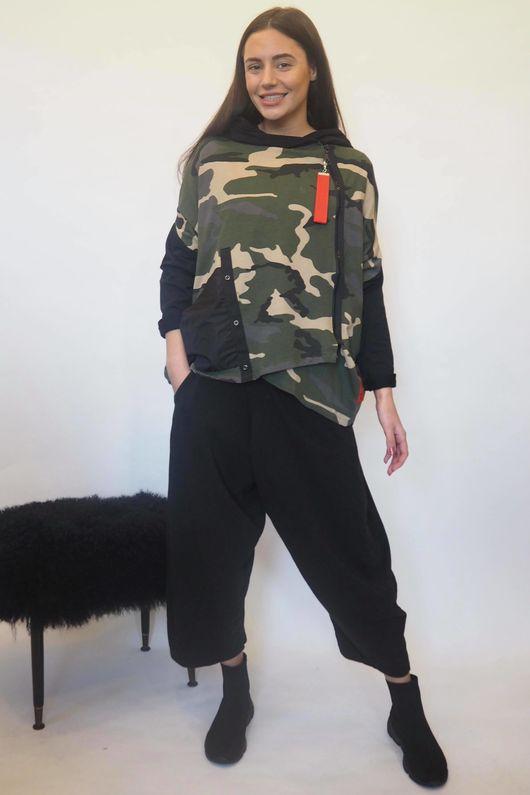 Mercer Camo Shortie Jacket