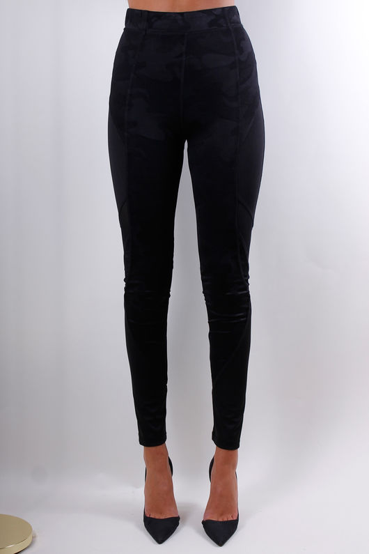 Not For The Gym Pants Black