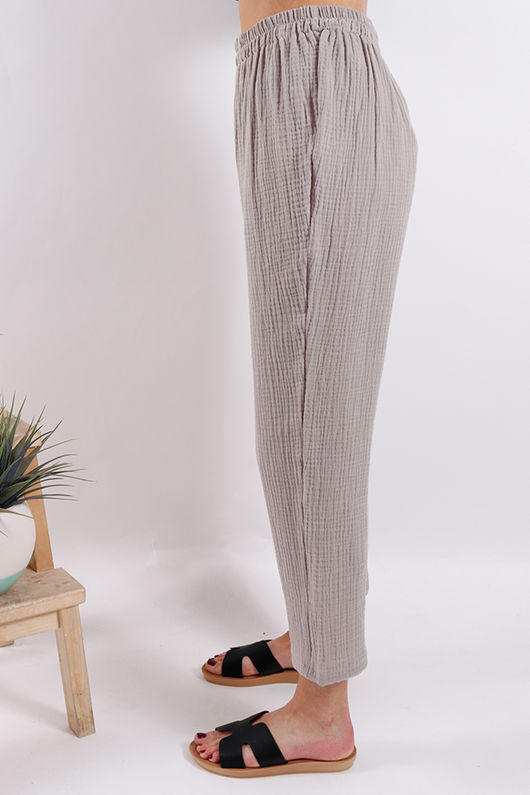 One Life Prue Pant Taupe