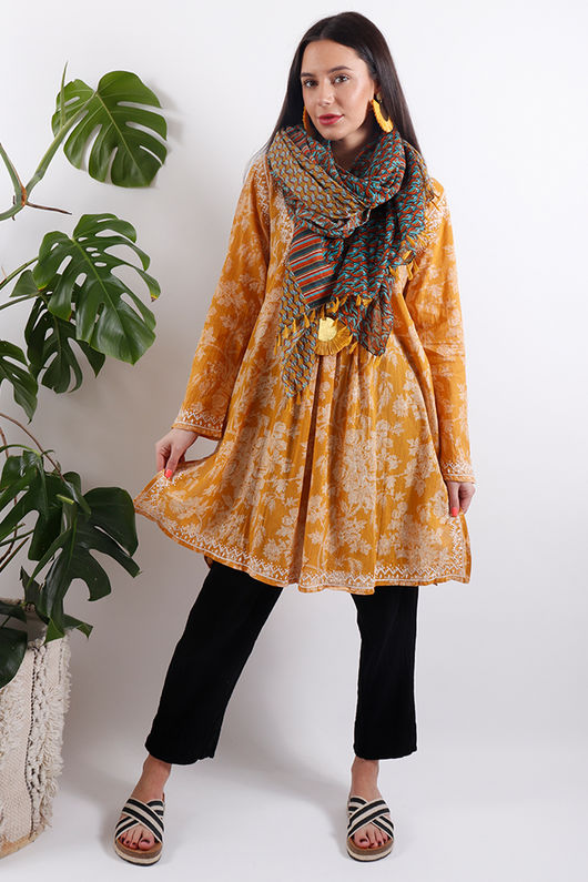 Out of Africa Embroidered Tunic