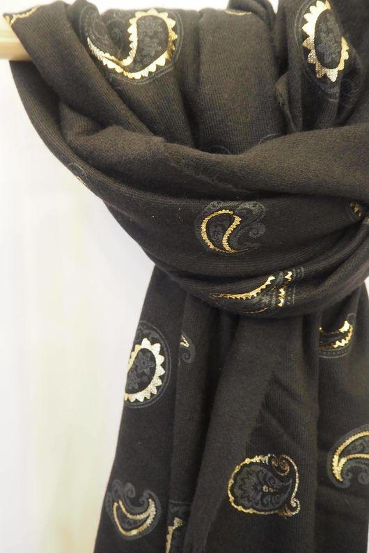 Paisley Park Soft Touch Scarf Black