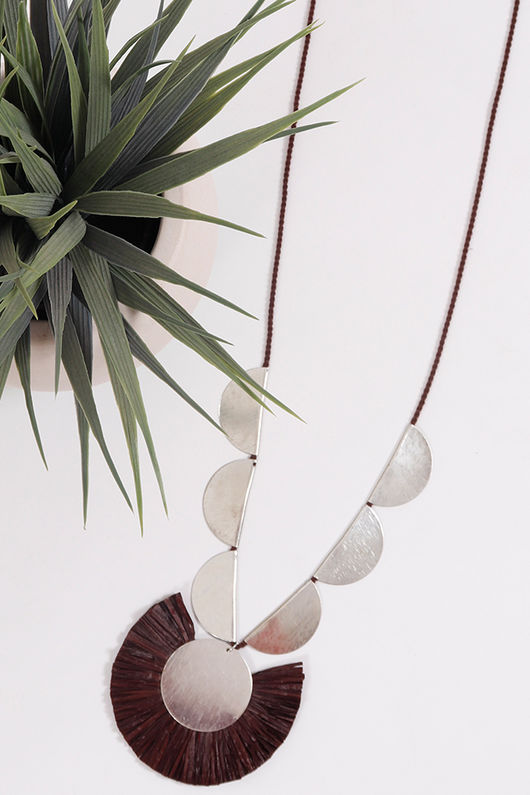 Palme Africa Necklace Brown