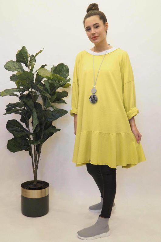 Peplum Tunic Dress Bamboo
