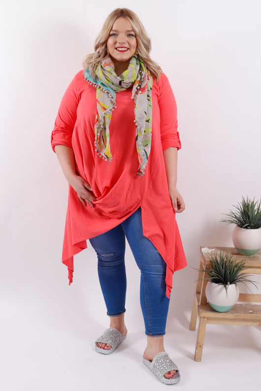 Rio Twister Top Living Coral