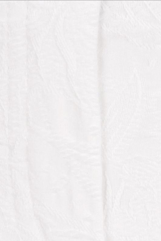 Robell Bella Leaf Jacquard White