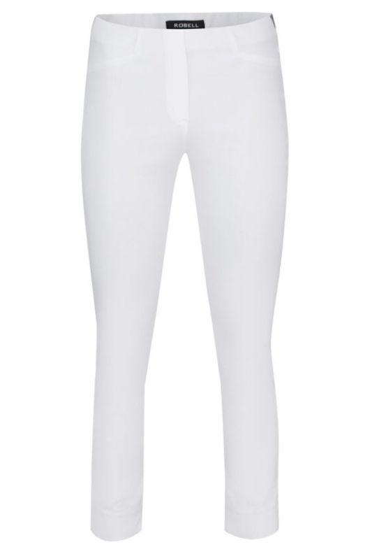 Robell Rose White 7/8 Trousers