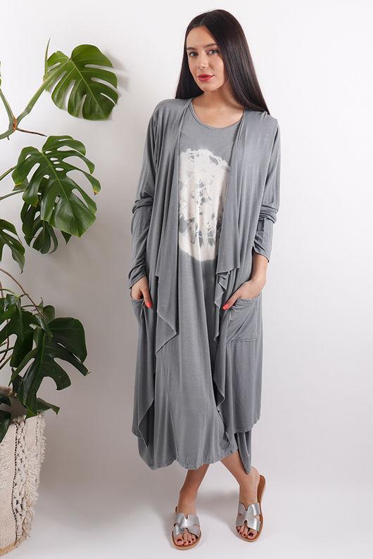 Sahara Cardigan Grey