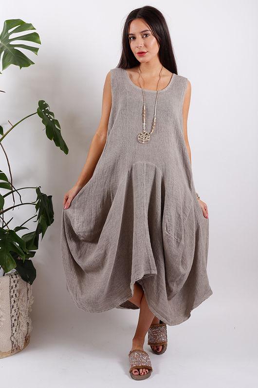 Sahara Dress Stone