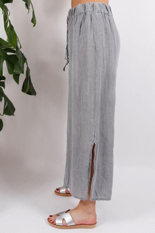 Sahara Split Side Pants Grey