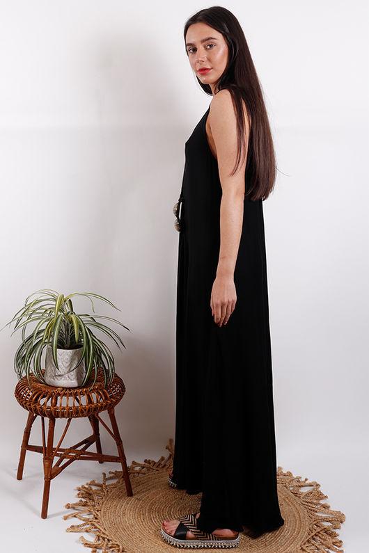 Savannah Maxi Dress Black