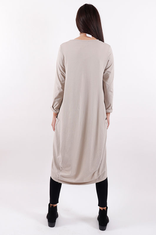 Seven Nations Dress Nude