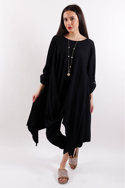 Seven Nations Twister Top Black