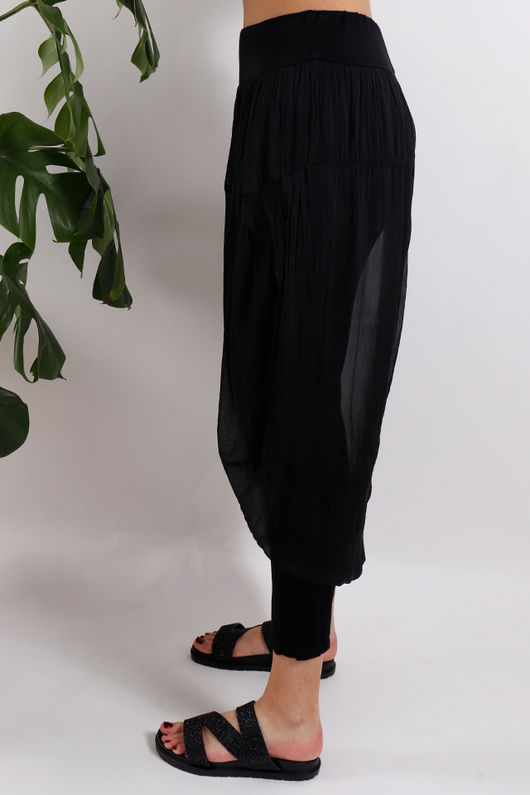 Silk Road Skirt Legging Black