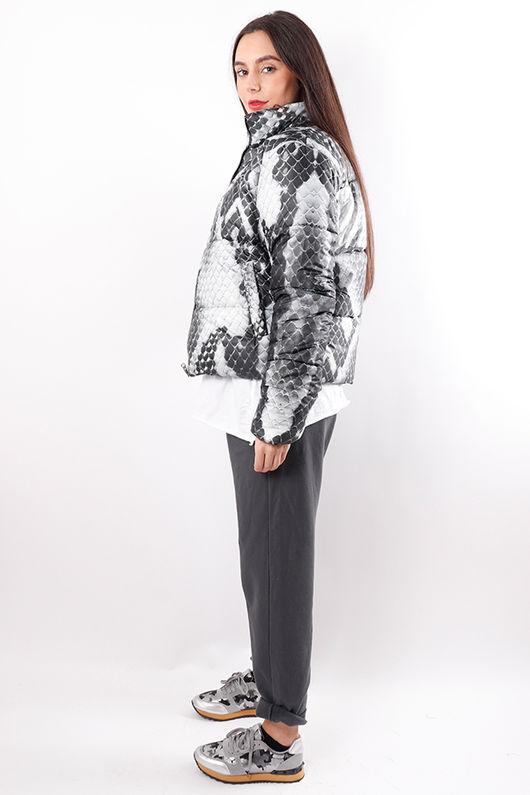 Snake Puffer Jacket
