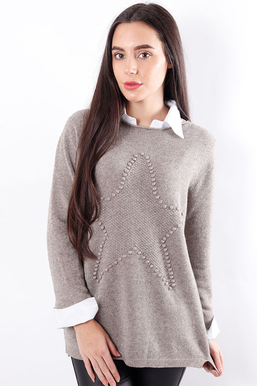 Star Knit Oatmeal
