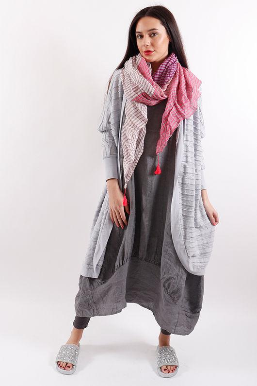 Stockholm Sac Dress Slate