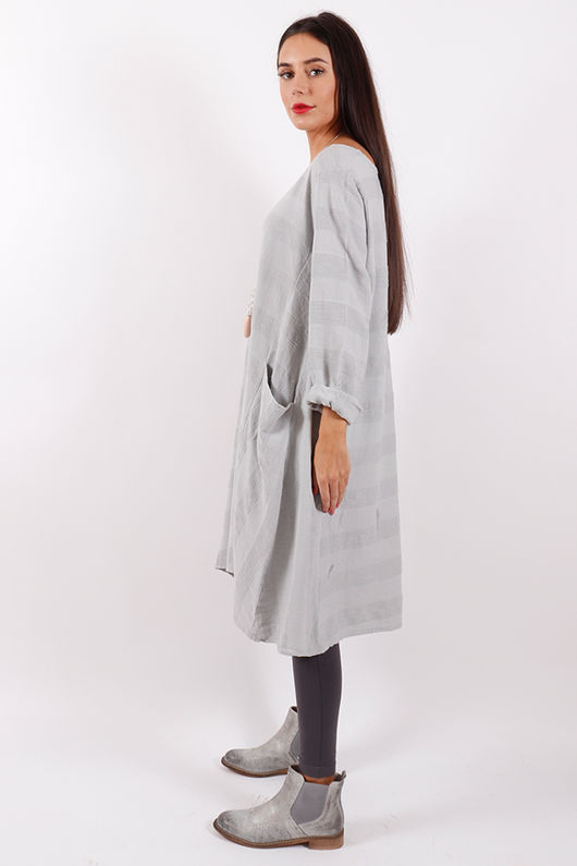 Stockholm Textured Tunic Dove