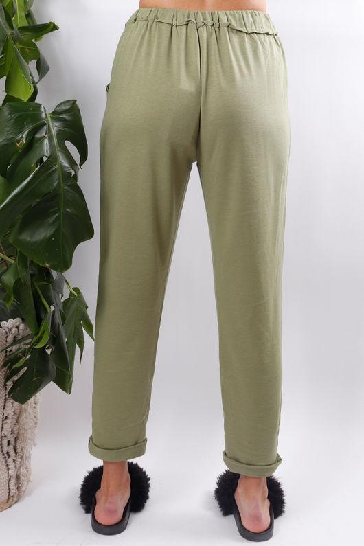 Super Soft Jogger Pants Green