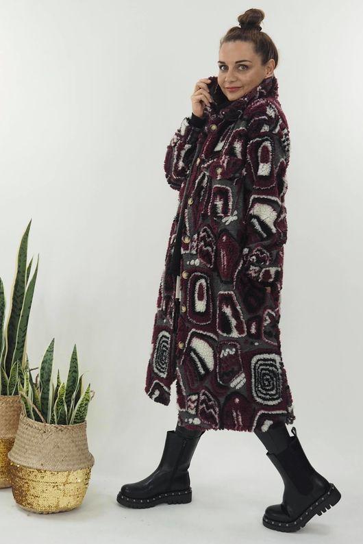 The Austin Coat Aubergine
