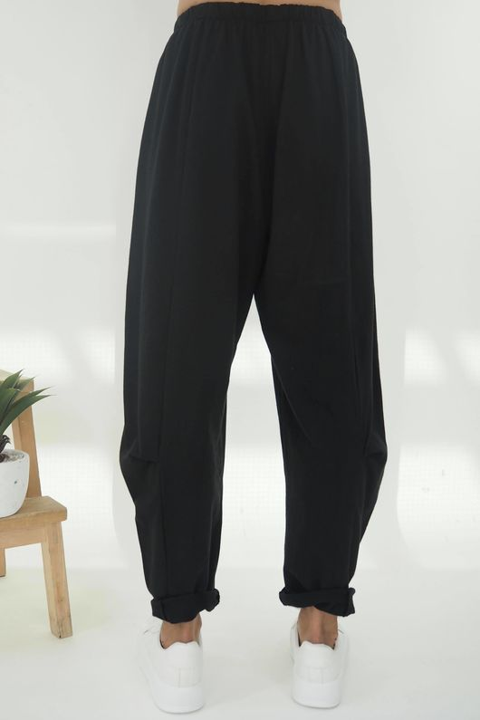 The Baby Cocoon Relaxed Sweat Pant Black