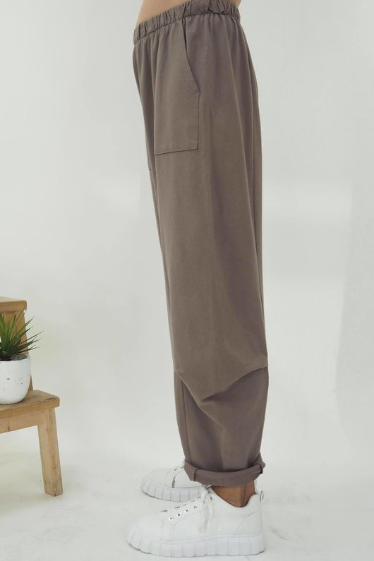The Baby Cocoon Relaxed Sweat Pant Mocha