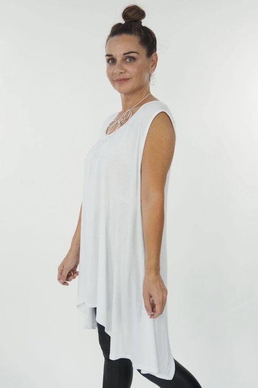 The Basic Parachute Vest White **