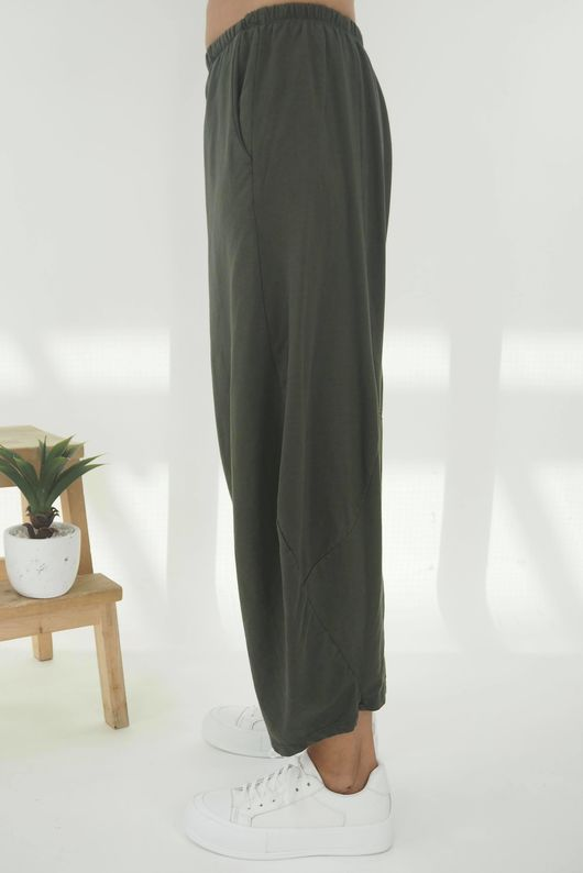 The Cocoon Relaxed Sweat Pant Khaki