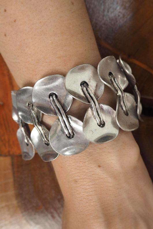 The Dakota Cuffed Bracelet Silver