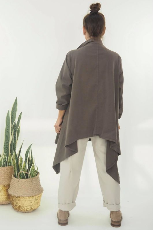 The Eve Quirky Blazer Earth