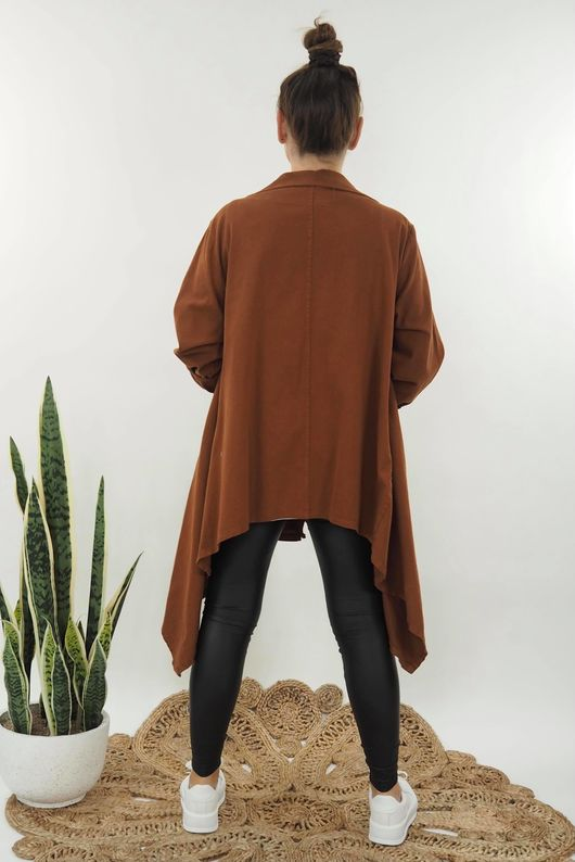 The Eve Quirky Blazer Tobacco