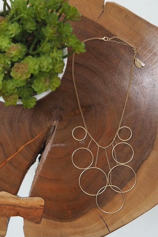 The Hoopla Necklace Gold