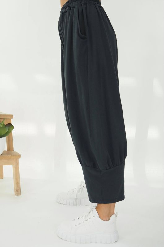 The Jo Jo Quirky Cocoon Pant Graphite