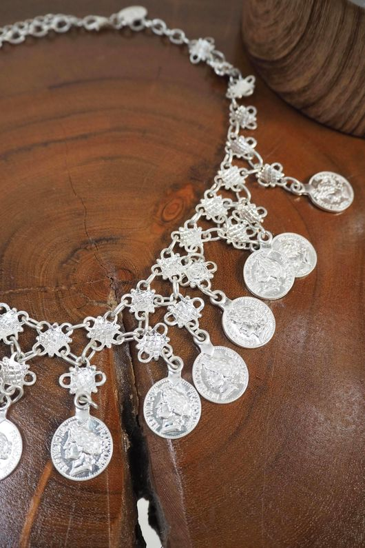 The New Mexico Necklace Silver