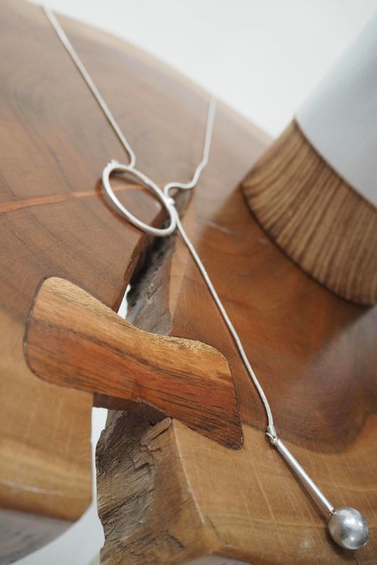 The Pendulum Necklace Silver