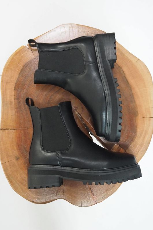 The Shoreditch Ankle Boot Black