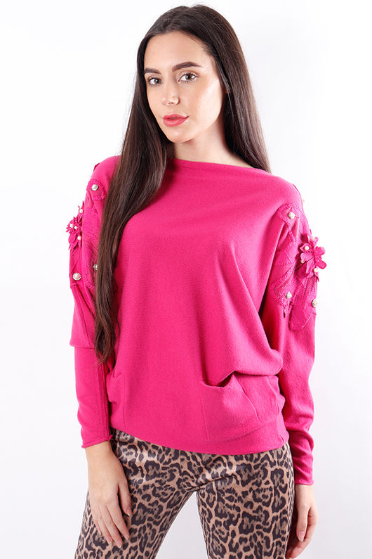 The 80s Knit Pink