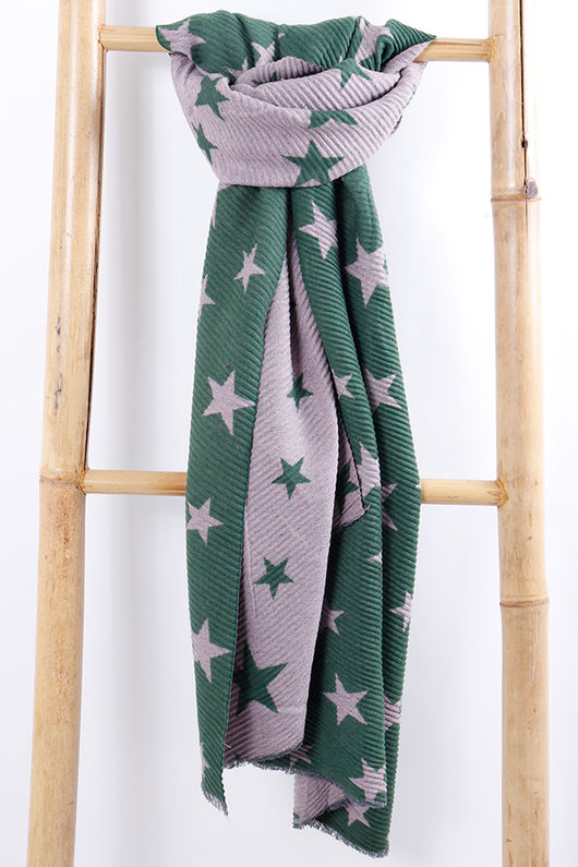 The All Star Scarf Green