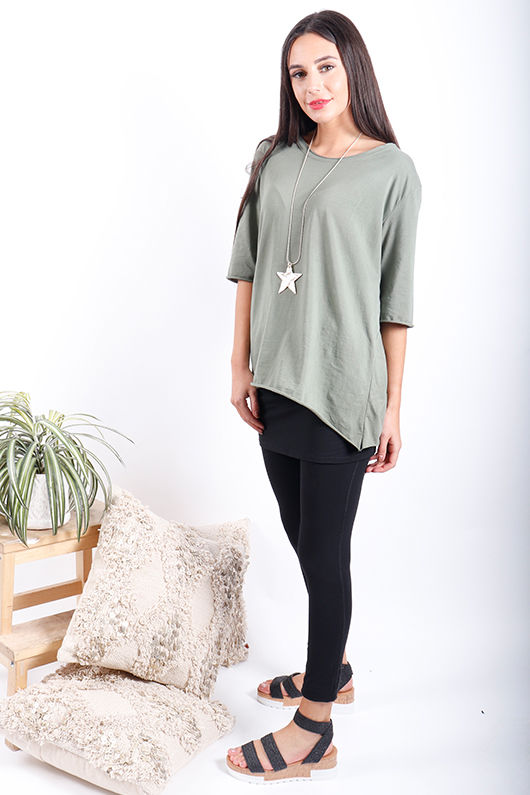 The Basic Tee Khaki