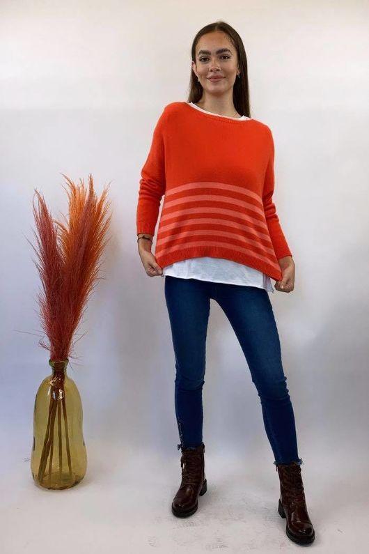 The Charli Breton Shortie Knit Fire