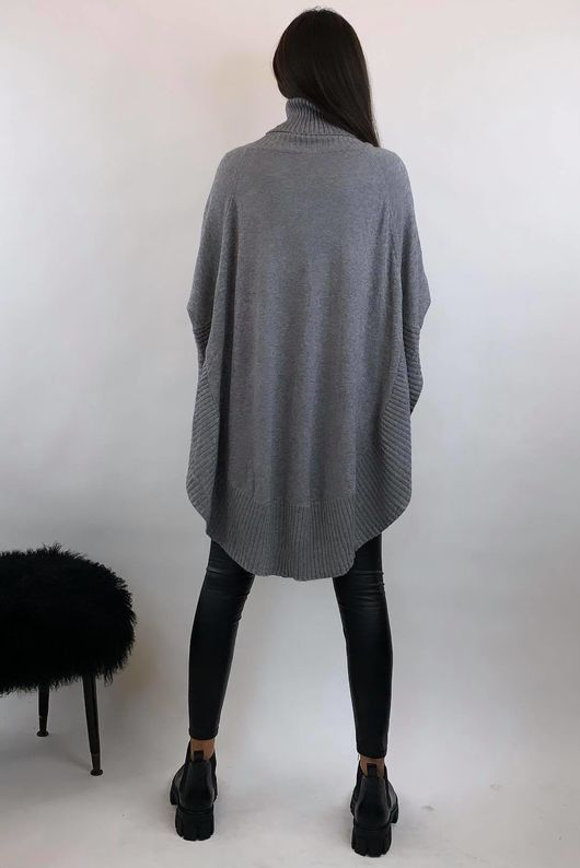 The Charli Circle Knit Grey Marl