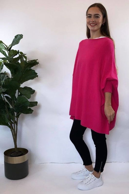 The Charli Oversized Slouchy Knit Candy