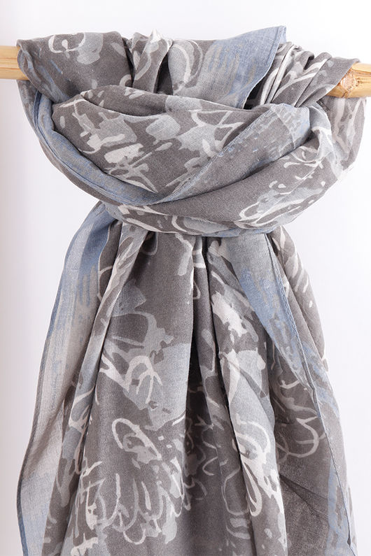 The Doodle Floral Scarf