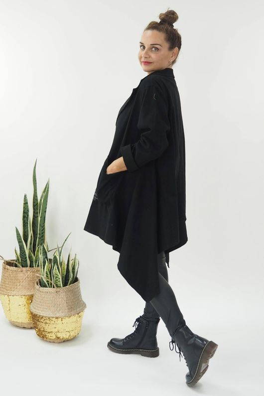 The Eve Quirky Blazer Black