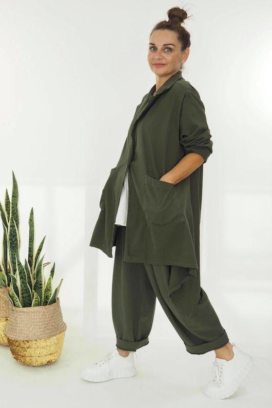The Eve Quirky Blazer Khaki