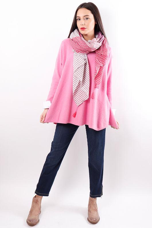 The Flirty Knit Pink