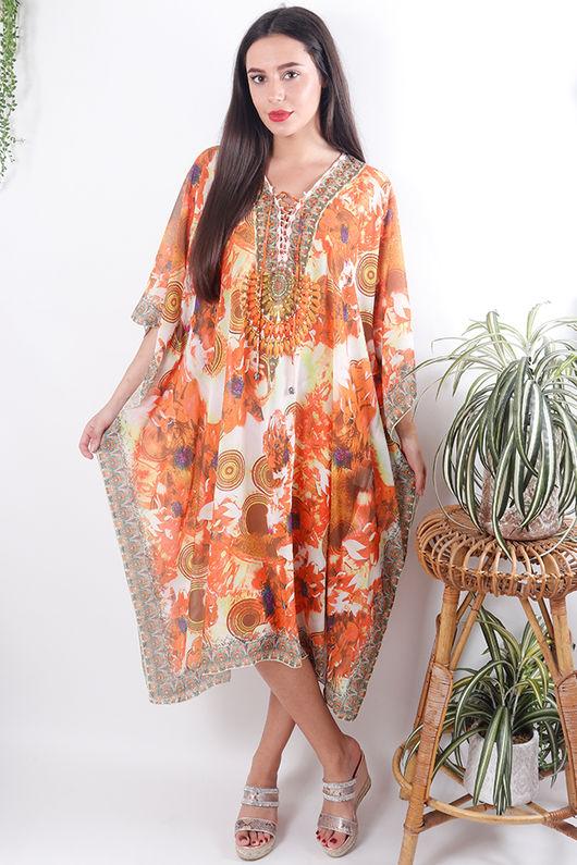 The Lopez Kaftan Dress